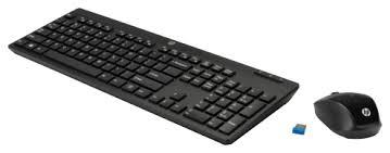 <b>Клавиатура и мышь HP</b> Z3Q63AA Black USB — купить по ...