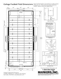 football field diagram printablefootball field dimensions