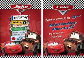 disney cars birthday invitations birthday party ideas disney cars birthday invitations