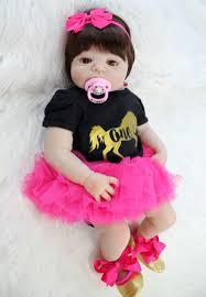 "NPKCOLLECTION 22"" <b>Full Silicone Newborn Baby</b> Girl Realistic ..."