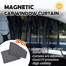 <b>2 pcs Magnetic car</b> sunshades/ window curtain   | Shopee Malaysia