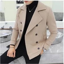 Windbreaker, men's autumn winter, short coat <b>2018 new Korean</b> ...