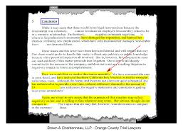 irvine trial lawyer gregory g brown obtains six figure brown charbonneau llp s initial demand letter conclusion