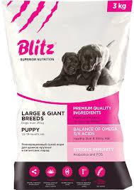 <b>Сухой корм Blitz</b> Puppy Large & Giant – купить в интернет ...