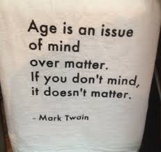 your present moment age is a matter