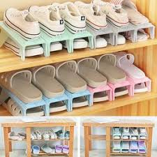 Creative Plastic Shoes Rack Organizer Space - Saving ... - Vova