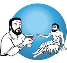 Resultado de imagen de Parábola de Lázaro y el epulón
