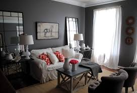gray color bedroom painting home