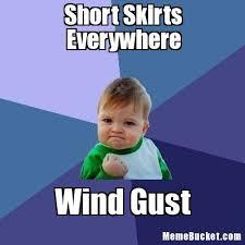 Short Skirts Everywhere - Create Your Own Meme via Relatably.com