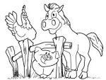 Раскраски домашние животные для детей картинки