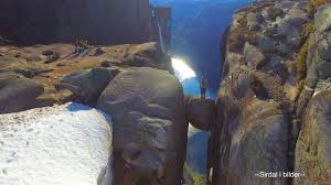 cliff jump gone awry is proof you should always look before you we need to go to and we need to go now