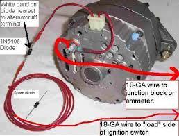 wiring one wire alternator diagram the wiring diagram wiring alternator diagram 8 one wire alternator conversion wiring diagram