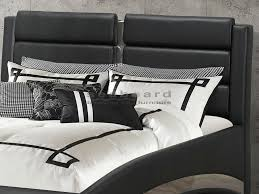 bedroom set jeremaine bed show off your bold side with this unique modern queen jeremaine uphols