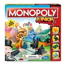 <b>Монополия</b> Junior настольная игра <b>Hasbro</b> - купить недорого в ...