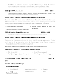 Barry Phelps   Resume   Service Delivery Manager