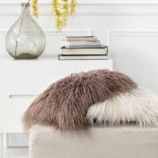 Декоративная <b>подушка</b> Нордик коричневая, серо-коричневый ...