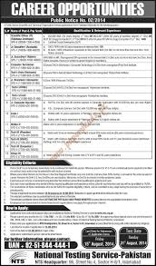 nts jobs scientific officer junior executive computer submit your cv