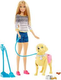 <b>Barbie</b> Игровой набор с куклой Прогулка с <b>питомцем</b> — купить в ...