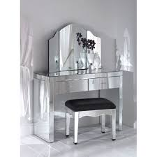 white high gloss finish wooden vanity table with single mirror charming makeup table mirror lights