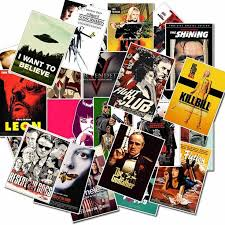 US $1.59 |<b>25pcs Classic Movie</b> Stickers For Luggage Laptop Art ...