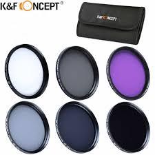 K&F CONCEPT <b>UV</b>+<b>CPL</b>+FLD+ND2+ND4+ND8 Photography Filter ...