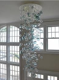 blown glass bubble chandelier by studio bel vetro via atticmag bubble hand blown glass
