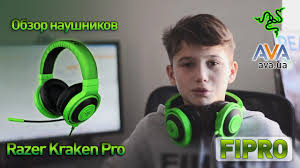 Обзор <b>наушников Razer Kraken</b> Pro от Fipro и AVA.ua - YouTube