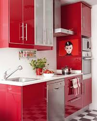 kitchen designs black white  awesome red kitchen designs with black white floor
