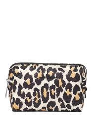 Shop white & black <b>Marc Jacobs Beauty</b> leopard print cosmetic bag ...