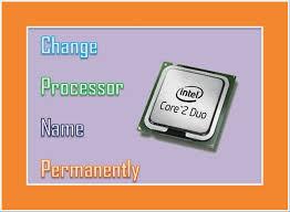 change processor name के लिए चित्र परिणाम