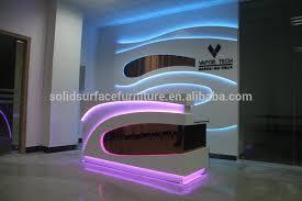 highly custom modern acrylic soild surface reception deskreception counter design beauty salon reception acrylic lighted reception desk reception counter design