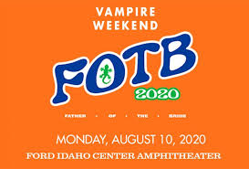 Events: <b>Vampire Weekend Father</b> Of The Bride Tour | Ford Idaho ...