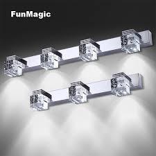 K9 Crystal Modern <b>Stainless Steel</b> LED <b>Front Mirror</b> Light Wall Lamp ...