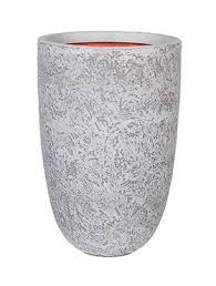 <b>Кашпо Capi tutch</b> rock nl vase elegant ivory