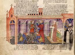 manuscript miniatures bnf fran ccedil ais queste del saint graal miniature expositions bnf fr arthur livres queste zooms fr 343 001v jpg