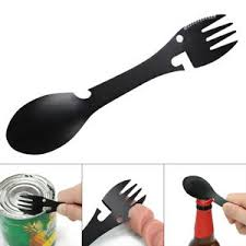 <b>MULTIFUNCTIONAL STAINLESS STEEL SPOON</b> FORK CAN ...