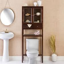 bathroom space savers bathtub storage: bathroom cabinets over toilet reserve deluxe bath space saver