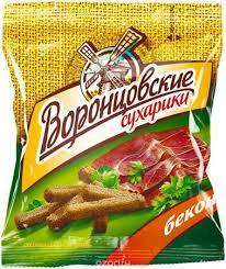 Сухарики Воронцовские, Бекон, 40 Г, Продукты, Напитки, Табак ...