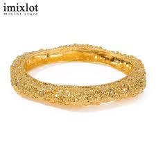 <b>Imixlot</b> Ethiopian <b>Gold Color</b> Cuff Bangle For Women Dubai Bride ...