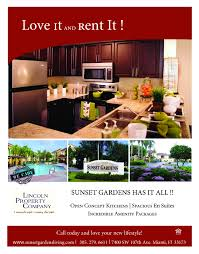 apartment flyers info sunset gardens apartments blog