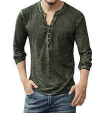 Best Price High quality <b>v neck</b> t shirts men long brands and get free ...