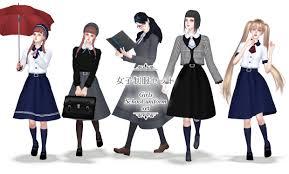 S:imadako tumblr — [<b>Girls school uniform set</b>]DOWNLOAD ...