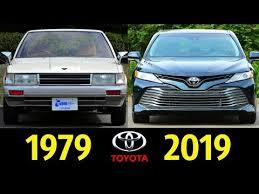 <b>Toyota Camry</b> - Эволюция (1979 - 2019) ! История Создания ...