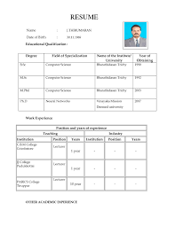 format examples for job sample resume  seangarrette coformat