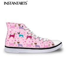 INSTNTARTS Zapatilla Mujer <b>Women's Vulcanize Shoes Cute</b> ...