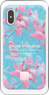 <b>Клип</b>-<b>кейс Happy Plugs для</b> Apple iPhone XS Botanica Exotica