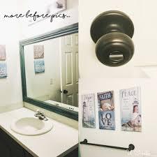 bathroom refresh: bathroom refresh by u create morebeforepics bathroom refresh by u create