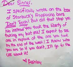 14 Funniest Passive Aggressive Office Notes - Excuse Meme via Relatably.com