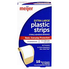 Meijer <b>Plastic Strips Adhesive Bandages</b> 2&#x22