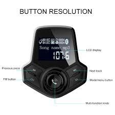 Multi function Voice QC3.0 Bluetooth <b>Car Charger</b> Modern <b>Big</b> ...